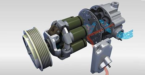 [MÁY NÉN KHÍ] Hoạt động của máy nén khí điều hòa ô tô